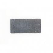 Aluminium nummerplaatje voor sleutelhouder