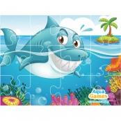 Aqua Game Puzzel Haai