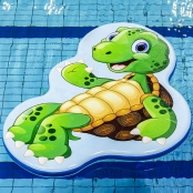 Drijfmat Schildpad