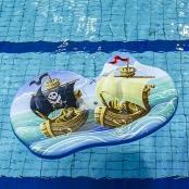 Drijfmat Piratenschip