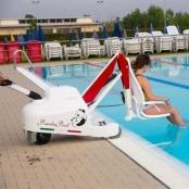 Pandapool verrijdbare zwembadlift